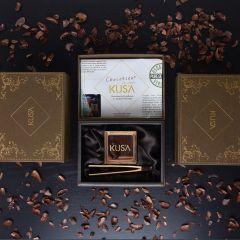 Chocobien Chocolatier - KUSA麝香貓咖啡豆85%Pure Nacional朱古力熟成24個月 KUSA-GOLD001S