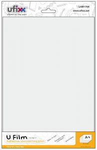 ufixx silicone 無痕膠膜貼 A4  (1包10張) LAM1704