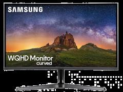 """(送OTO 頸肩鬆) SAMSUNG 32"""" WQHD曲面顯示器  LC32JG50QQCXXK"""