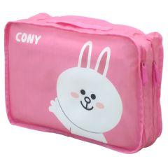 Line Friends - 兔兔雙層旅行儲物袋(小)