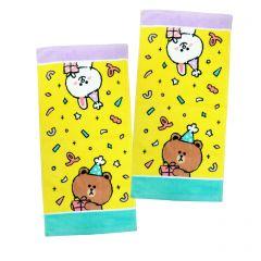 LFF12552 LINE FRIENDS - 2P手巾套裝 60X30厘米