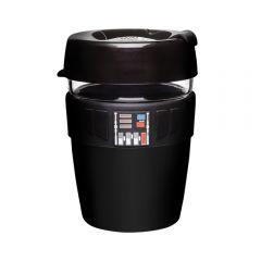 KeepCup - [Made in Australia]LongPlay Tempered Glass Double Wall Cup M/12oz/340ml - Star Wars Darth Vader LGKC-DAVLP12
