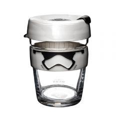 KeepCup - [Made in Australia]Brew Tempered Glass Cup Medium 12oz/340ml - Star Wars Stormtrooper LGKC-STB12