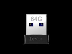 LEXAR JUMPDRIVE S47 64GB USB (LJDS47-64GABBK)