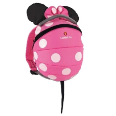 LittleLife - Toddler Character Daysack - Disney Pink Minnie Mouse LLL10980