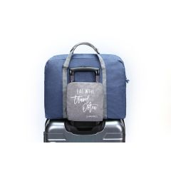 LE MAURICE - 摺疊式旅行袋 (藍色) LM-FTB01-BLU