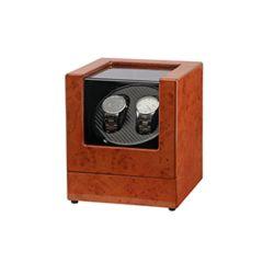 Harrow - Two Watches Wind-up Watch Box (Brown) Lohas_WATCH_2_BN