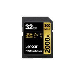 Lexar - Professional 2000x SDXC™ UHS-II 記憶卡 (32GB / 64GB / 128GB) LSD20000