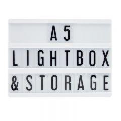 Locomocean -A5 黑色燈箱 LTBOX-B-A5