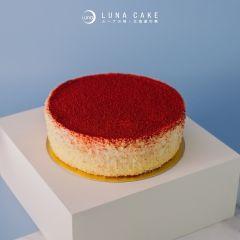 LUNACAKE003 (電子換領券) Luna Cake - Premium荔枝雙層芝士蛋糕(6吋)