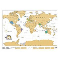 Luckies - Scratch Map® Original - White LUSCR