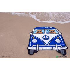 Marushin - Blue Bus Beach Towel M0135021700