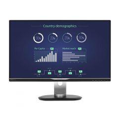 Philips - 25 inch B Line Quad HD LCD Monitor with USB-C Docking 258B6QUEB M258B6QUEB