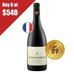 Grand Marrenon 2014 (1 Bottle / Full Case) Marrenon_GM_P