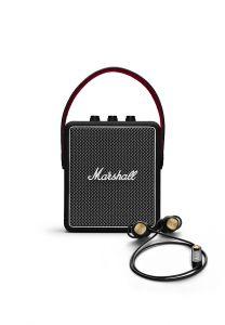 MARSHALL STOCKWELL II 藍牙喇叭 (黑色) + MINOR II 入耳式藍牙耳機 (黑色) 套裝