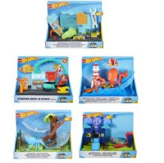Mattel Games - Hot Wheels City Nemesis Attack Playset Assortment ( 款式隨機送出)