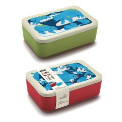 Monkey Business - Good To Go Lunchbox (Blue Bear/Blue Fish) MB6822-23