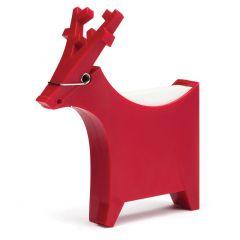 Monkey Business - Robin Memo Reindeer Holder Red MB774