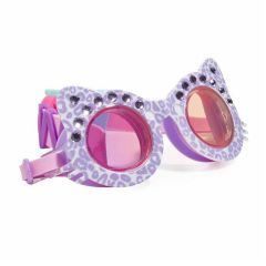 Bling2O - Swim Goggles - The Cats Meow - Mittens Purple MEO25128
