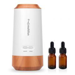 MF-WD01 multifun - 無水式木紋香薰油霧化機-附雙香薰油空瓶