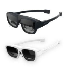 Mad Gaze - Glow MR 擴增實境智能眼鏡 (黑色 / 白色) MG101_all