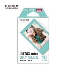 富士 Fujifilm - 即影即有Mini相紙 Sky Blue 藍邊