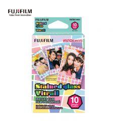 富士 Fujifilm - 即影即有Mini相紙 Stained Glass 玻璃格