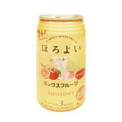 新得利 - 微醺 雜果味 3% 350毫升 (1支 / 6支 / 24支) (平行進口貨品) MIX_FRUIT_ALL