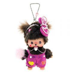 Monchichi Accessory BCC Romper Pink Girl Chain MO-KEY047-C33