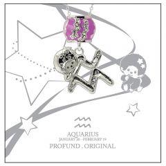Monchichi Star Sign Necklace Giftbox - AQUARIUS MO-NEC107-AQU
