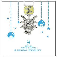 Monchichi Star Sign 系列星座項鏈禮盒裝 - 雙魚座