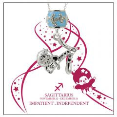 Monchichi Star Sign Necklace Giftbox - SAGITTARIUS MO-NEC107-SAG
