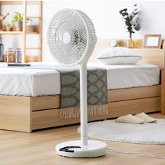 Modern Deco Sunrize YY01 360-degree rotary energy-saving fan (seat and platform dual-use) (White) MOD03