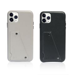 MONOCOZZI - Exquisite Genuine Leather Shockproof back cover for iPhone 11 Pro (2 colors)