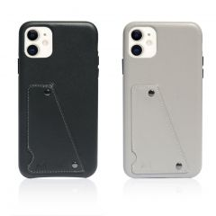 MONOCOZZI - Exquisite Genuine Leather Shockproof back cover for iPhone 11 (2 colors)
