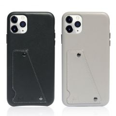 MONOCOZZI - Exquisite Genuine Leather Shockproof back cover for iPhone 11 Pro Max (2 colors)