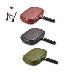 MOOV-3002-0124 HAPPYCALL - [韓國製造]Compact雙面鍋(3色選擇)(送HAPPYCALL夾子&湯勺)
