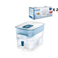Moov-BTA-FLOW-P12 BRITA - Flow濾水箱(內含濾芯*1)及 Maxtra+ 濾芯 12件裝[一年套裝]