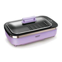 韓國大宇 DAEWOO SK1升級版 無煙電燒烤爐 (薰衣草紫)