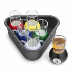 Final Touch - 美式桌球玻璃烈酒一口杯 30ml(6隻裝) MOOV-FTA1836
