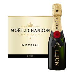 Moet & Chandon - 酩悅迷你經典香檳 20cl x 6 支 (送酒咀 6 個 + 迷你冰桶 1 個)
