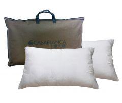 MOOV-NP200PBS19-2 CASABLANCA - 至尊透氣蠶絲枕 2件(送淨色純棉系列枕袋一對-隨機顏色[限量50套]價值$199)