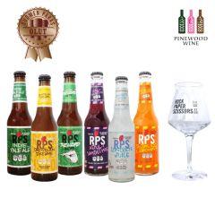 Rock Paper Scissors -  芬蘭包剪揼手工啤及特飲試飲裝 (6款口味,各1支)(送啤酒杯 1 隻)
