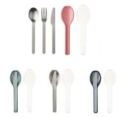 MEPAL - [Made in Holland] Cutlery 3 piece Ellipse (4 colors option) MP-Cutleryset-MO