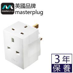 Masterplug - 3x 13A Adaptor MSF3  MP-MSF3