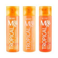 mades - Body Resort - Volumising Shampoo - Tropical Mango 250ml MS020003