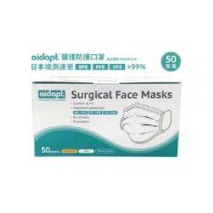Aidapt - Disposable Surgical Face Masks - Green Box - 2 boxes MSDM1020