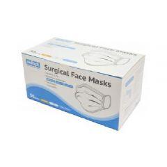 Aidapt - Disposable Surgical Face Masks - Blue Boxes -  2 Boxes MSDM2020