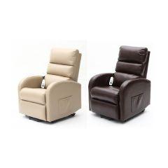 Aidapt -  愛意達 Ecclesfield系列可升降電動臥椅(小型) (米色 / 深棕色)