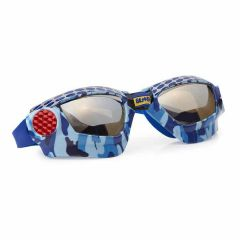 Bling2O - Swim Goggles - Mack Truck Camo - Mud Bogging Blue  MUD25166